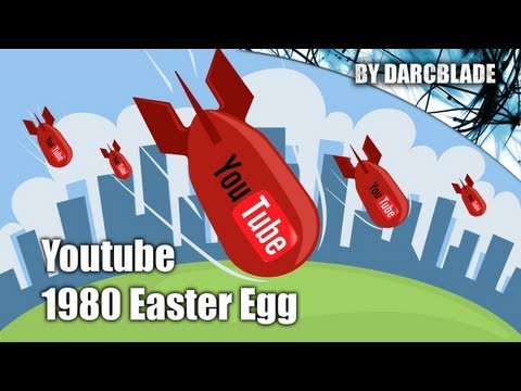 Youtube Easter Egg 1980 (Missle Command Game)