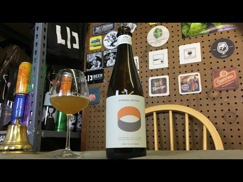 Threes Eternal Return: Apricot (Brett/Lacto Apricot Sour) Review - Ep. #1104