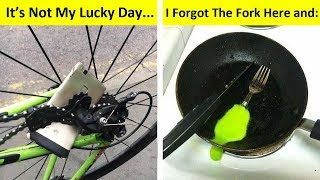 Hilarious Examples Of Bad Luck (NEW PICS!)