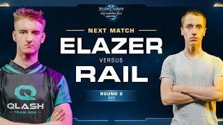 Elazer vs Rail ZvP - Round of 8 - WCS Winter Europe