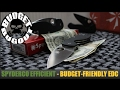 BRAND NEW: Spyderco Efficient -- Budget Friendly EDC [Everyday Carry] Folding Pocket Knife Review