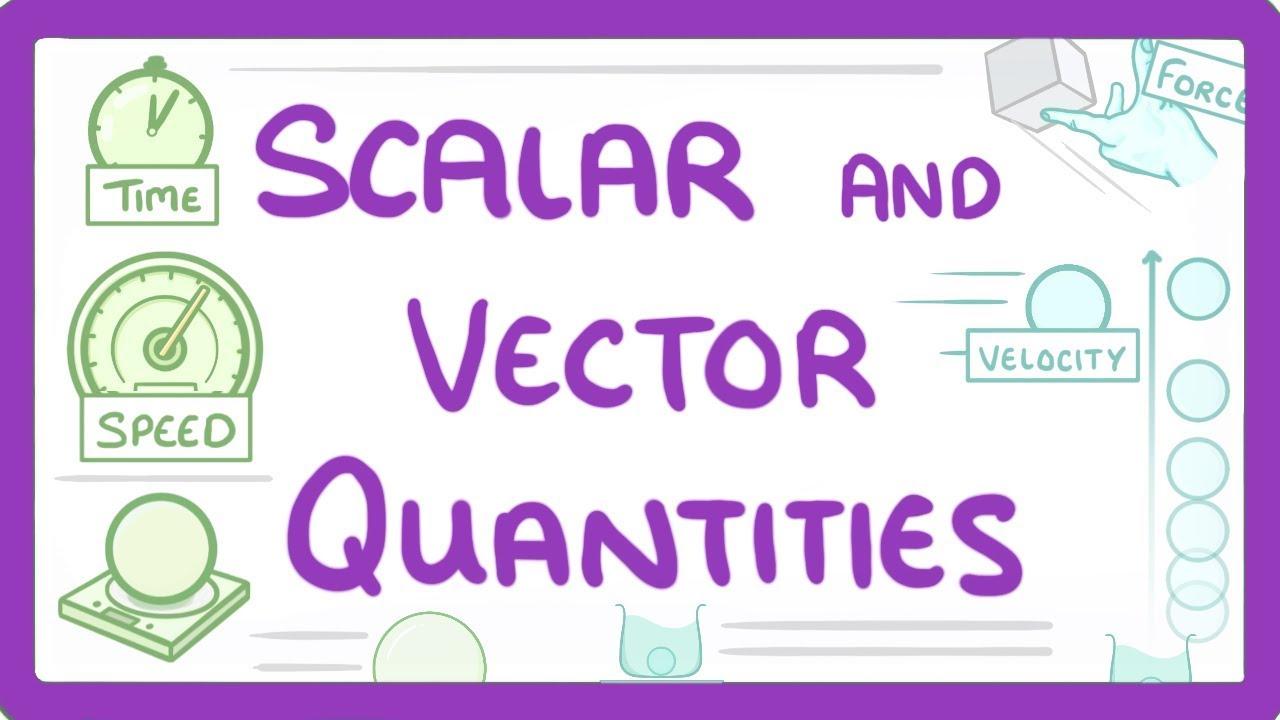 Download GCSE Physics - Scalar and Vector Quantities  #41