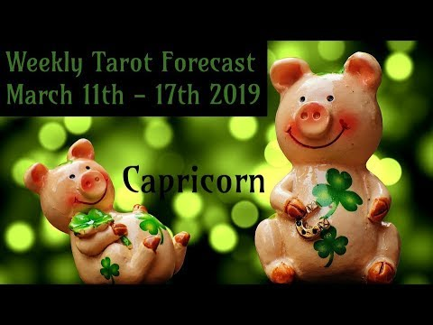 Capricorn - The storm will blow over! - Tarotscope March 11th - 17th