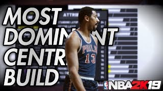THE MOST DOMINANT CENTER BUILD NBA 2K19 thumbnail