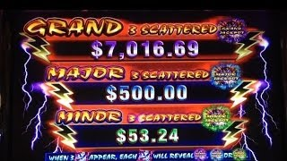 Thunder Dragon slot machine MAJOR JACKPOT WIN