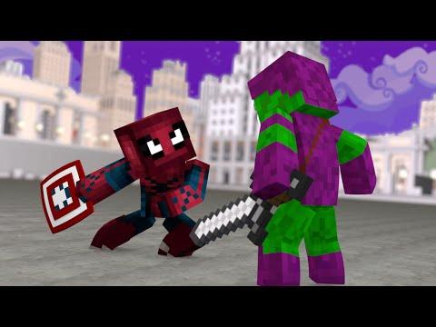 Minecraft PE : Pocket Heroes #13 - Homem...
