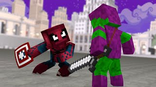 Video Minecraft PE : Pocket Heroes #13 - Homem Aranha VS Duende Verde !! (Minecraft Pocket Edition) download MP3, 3GP, MP4, WEBM, AVI, FLV November 2018