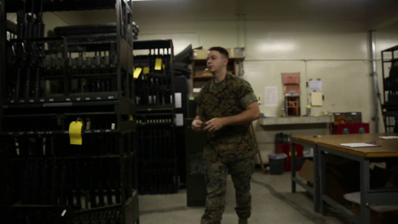 Small arms repair technicians support Marine Corps Installations ...