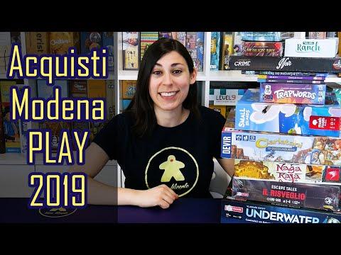 Acquisti Modena Play 2019 - Giochi da Tavolo