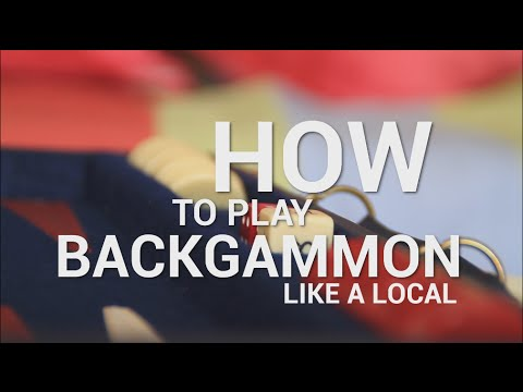 How To Play Backgammon Like A Local Youtube