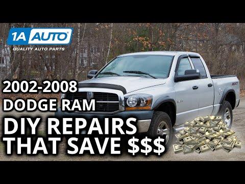 Top DIY Money Saving Repairs on 2002-2008 Dodge Ram Trucks