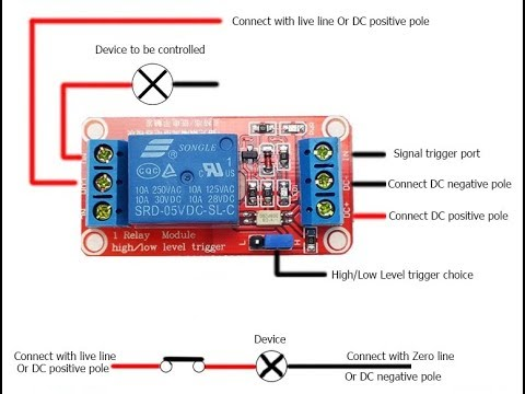 1 Kanal Relais Modul 5V 10A Optocoppler Relay Jumper für Arduino Raspberry ARM
