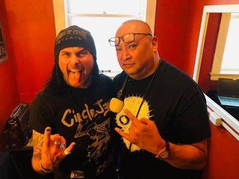 Dani Filth (CRADLE OF FILTH) On Robbs MetalWorks 2019