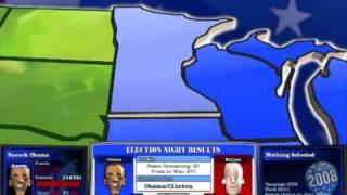 The Political Machine 2008 Obama Vs McCain