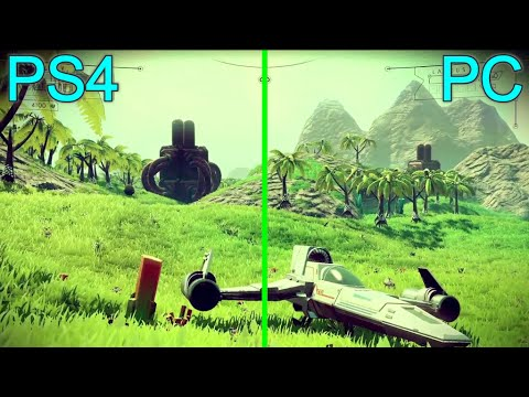 no man 39 s sky ps4 vs pc graphics comparison full hd youtube. Black Bedroom Furniture Sets. Home Design Ideas