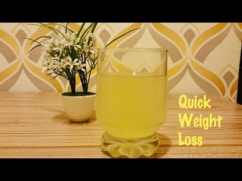Easy Detox Water for rapid weight loss