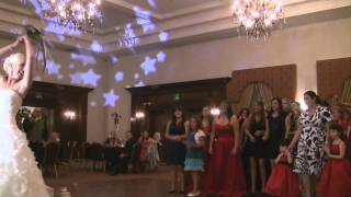 Hellenic Center Wedding Lancaster Ca With DJ Mikey Mike Uplighting Dancing on a Cloud