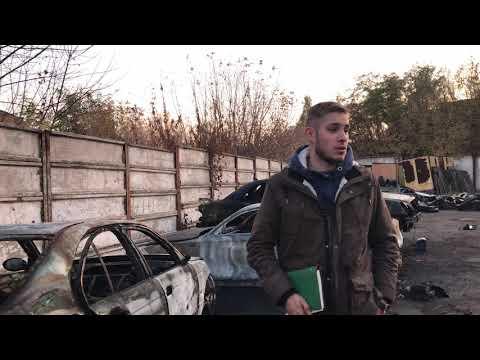 Возвращение 90-х? Рэкетиры подожгли автомобили на СТО\ Обращение к Президенту Зеленскому.