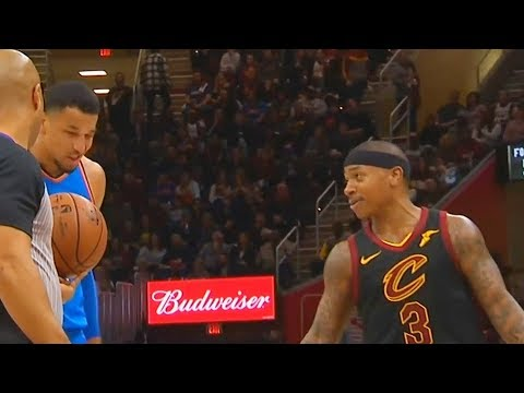 Download Youtube: Isaiah Thomas TRASH TALKS Andre Roberson After Poking Him in the Eye with Dwyane Wade!