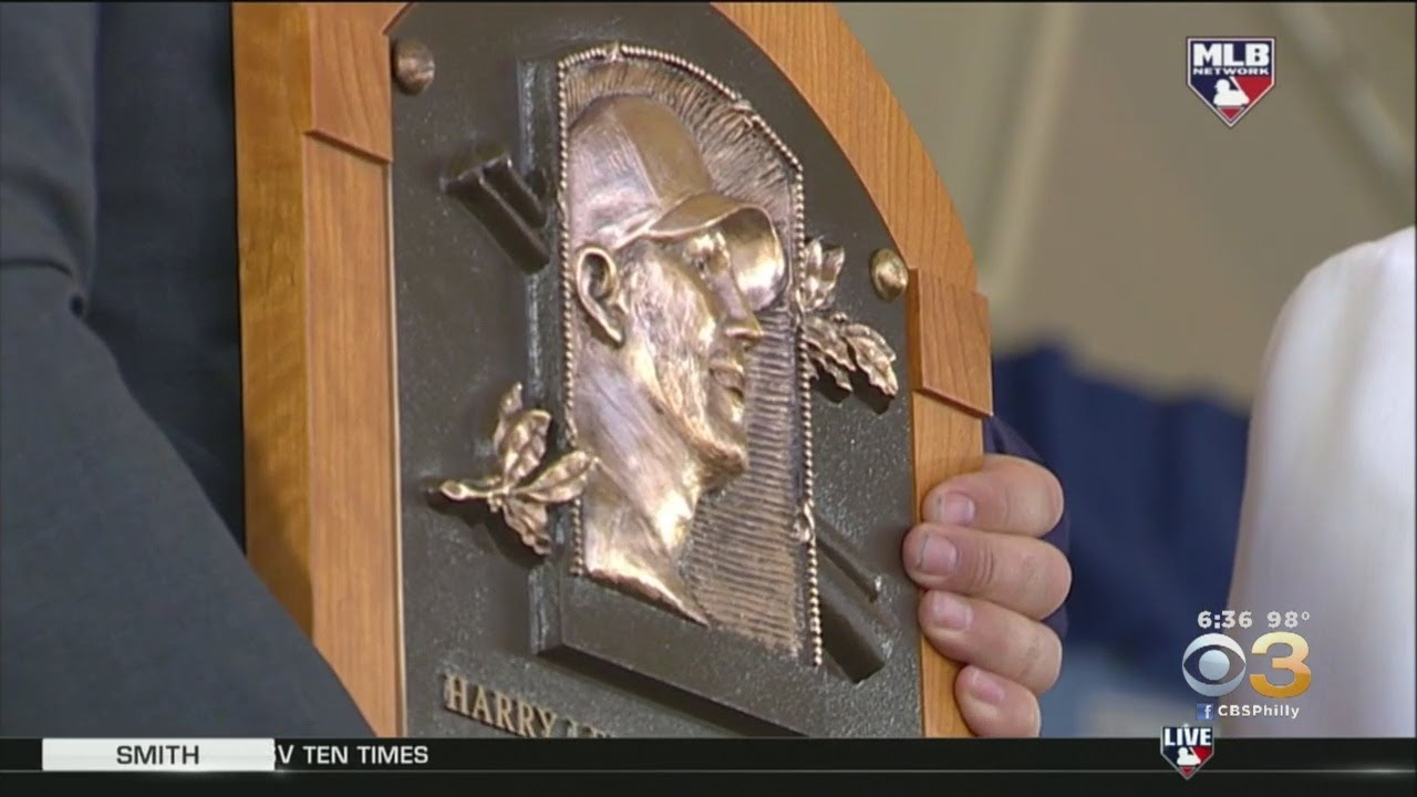 WATCH: Brandy Halladay Delivers Emotional Speech For Roy Halladay's Baseball Hall Of Fame Induction