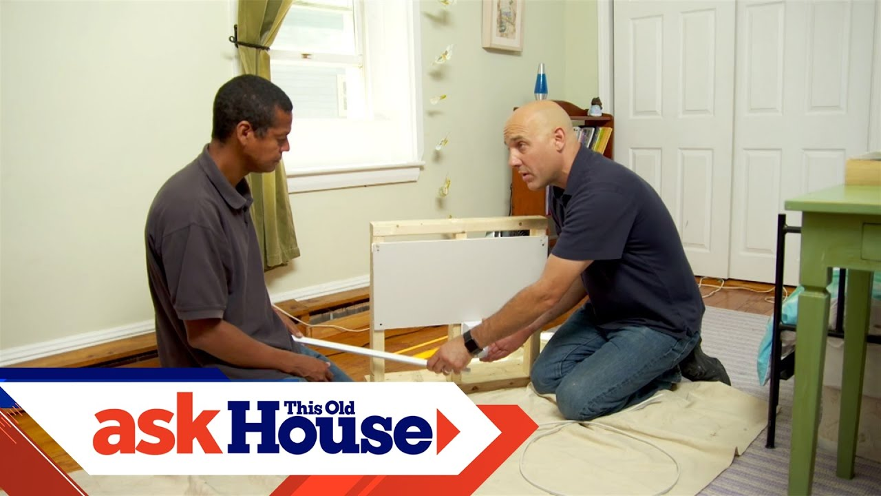 how to conceal electrical wires with crown molding youtube rh youtube com This Old House TV Show Ask This Old House Crew