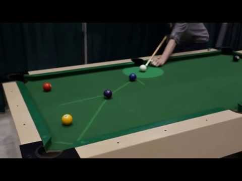 AWE.tv Demo of AR Pool with Kevin Hughes, Queen's University