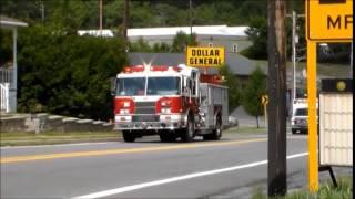 Fire Trucks and Ambulances Responding 2014
