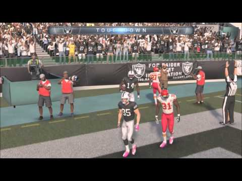 Madden NFL 16 Xbox One - Kansas City Chiefs Franchise (Y2,G7): Chiefs vs Raiders