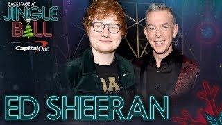 "Ed Sheeran talks Beyoncé ""Perfect"" duet at KIIS FM's Jingle Ball"