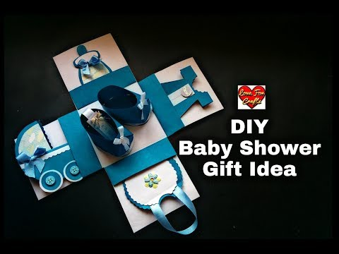 DIY - Baby Shower Gift Idea  | Baby Shower Explosion Box