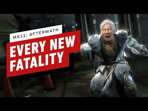 Mortal Kombat 11: Aftermath - Every New Fatality and Stage Fatality