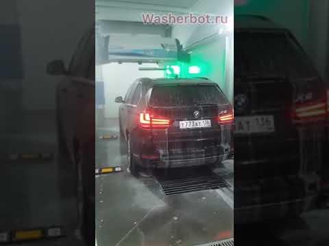 Автоматическая робот 🤖 мойка в Ульяновске. Отчёт о работе январь 2020. Моем несколько дорогих авто.