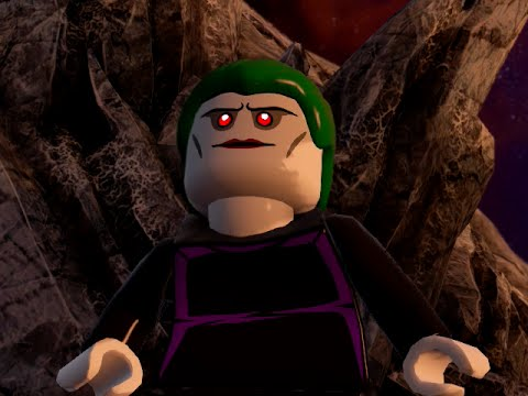 LEGO BATMAN 3 - The Joker Batman Beyond FREE ROAM GAMEPLAY