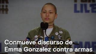 Conmueve el discurso de Emma González contra las armas - En Punto con Denise Maerker