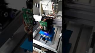 Key laser engraved wooden hobby AS—5   10W laser engraver