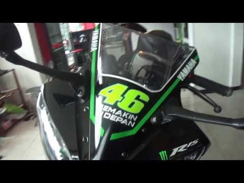 R15 V2 Modified With Projector Lights Yamaha R15 Version 2.0...