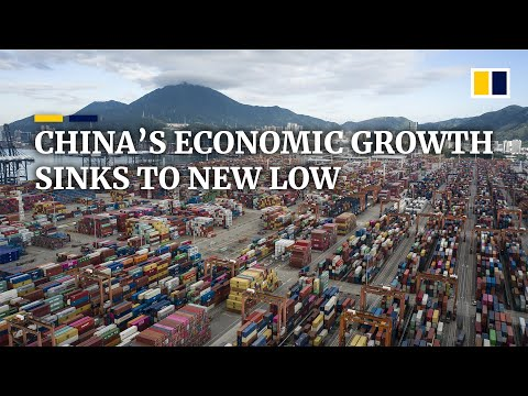 China's Economic Growth Plunges To A New Low Of 6.0 Per Cent Amid US Trade War