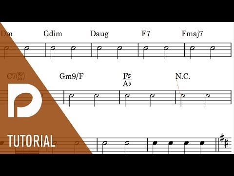 How to Input Chord Symbols | New Features in Dorico 1.1