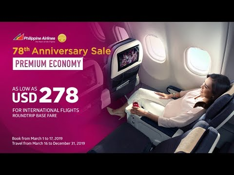 78th Anniversary Sale: Premium Economy as low as USD 278