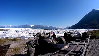 Fisher's ATV World - Alaskan Family Adventure Pt1 – Knik Glacier (FULL)