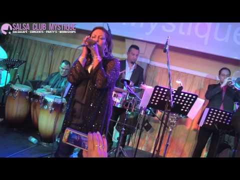 Ese Hombre - La India in Salsa Club Mystique Amsterdam 26-09-2014