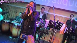 Ese Hombre - La India in Salsa Club Mystique Amsterdam 26-09-2014