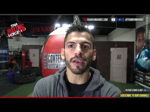 JORGE LINARES: on FIGHTING MIKEY GARCIA