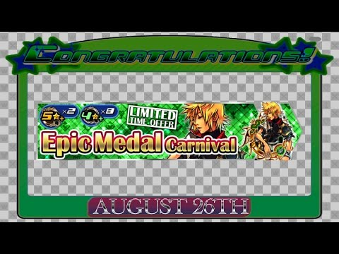 Kingdom Hearts Unchained x : PRE-UPDATE ~ August 26th - Back to Back EMC