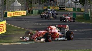 CARRERA GRAN PREMIO DE AUSTRALIA 2017 | F1 2016 Codemasters | Kimi Raikkonen