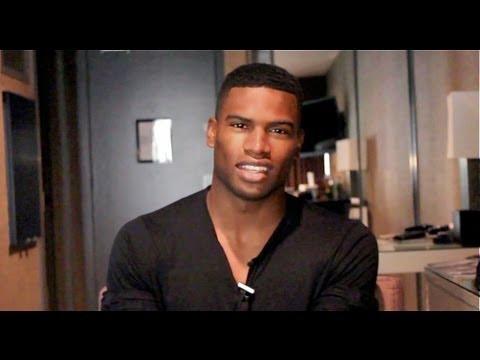 Top Black Models speaks to Broderick Hunter