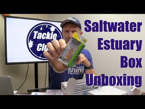 Tackle Club | Saltwater Estuary Box Unboxing