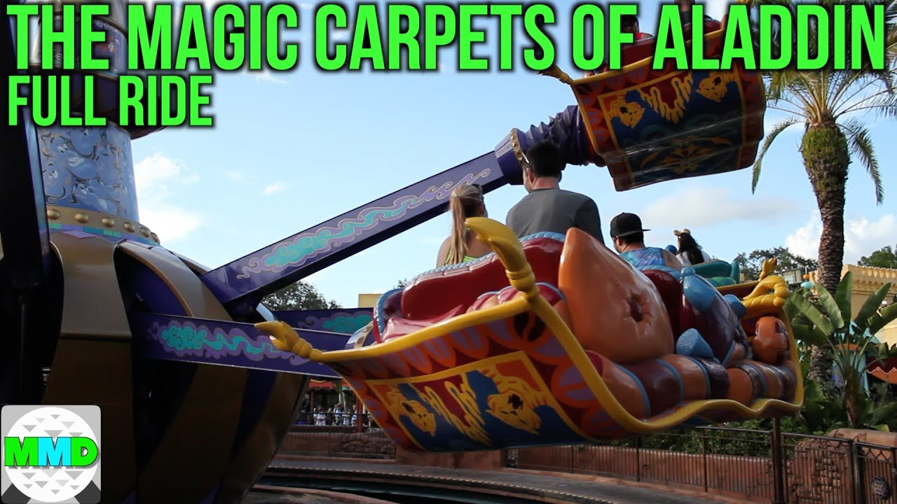 The Magic Carpets Of Aladdin Full Ride Pov Walt Disney