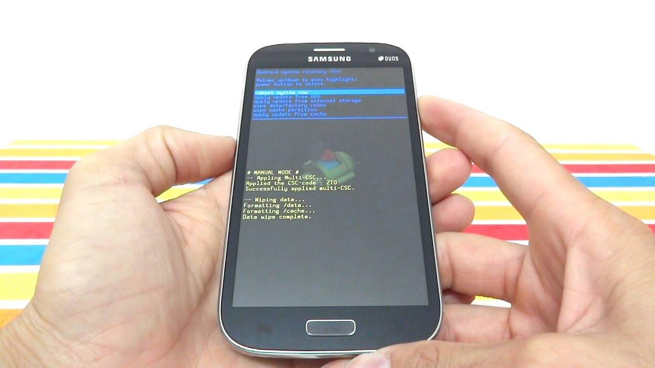 Como Formatar Samsung Galaxy Gran Neo TV I9063    Hard Reset, Desbloquear   G-Tech