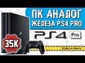 Собираем ПК аналог железа PS4 PRO: Игровой ПК за 35K